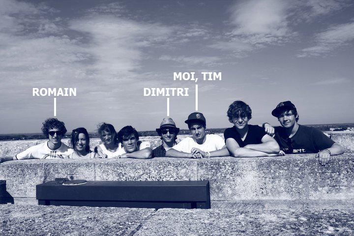 Photo de Romain, Dimitri et Tim, de Oward.co et apprendre-le-scenario.com.